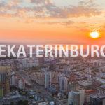 """Новый ролик о екатеринбурге """"Ekaterinburg Dronelapse (Drone Hyperlapse)"""""""