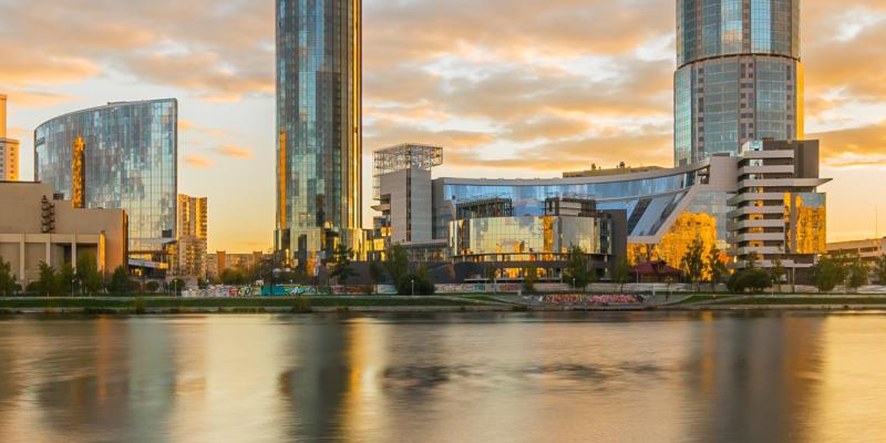 Новый таймлапс ролик Екатеринбург 2016