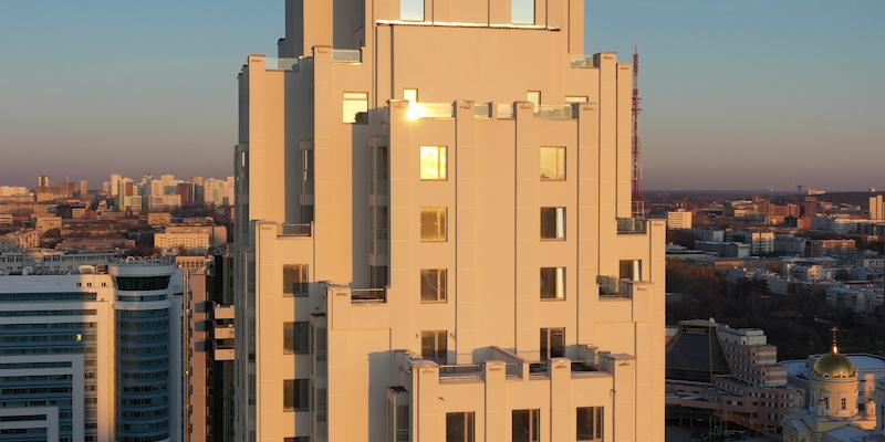 Аэросъемка недвижимости в Екатеринбурге