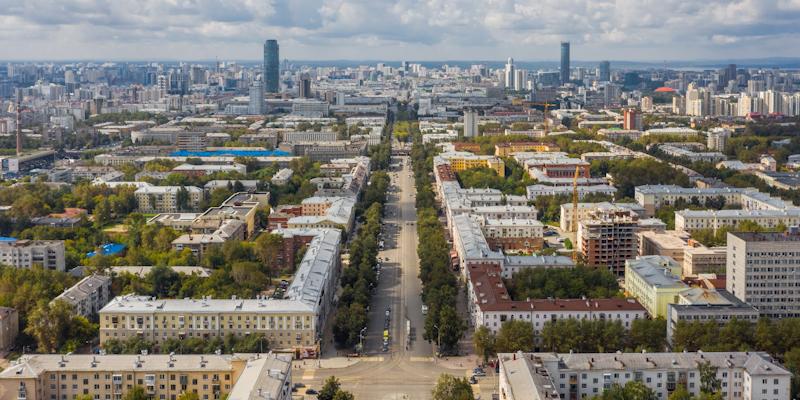 Аэросъемка в Екатеринбурге